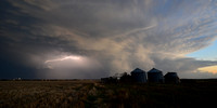 Stormy Evening - Downs, KS