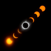 2017 Total Solar Eclipse - Composite